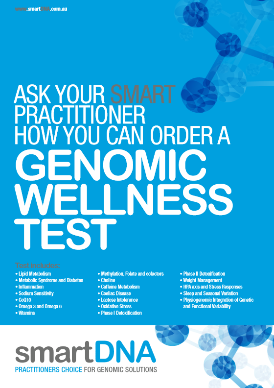 smartDNA Genomic Wellness Brochure